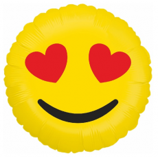 Balón Smajlík Emoji Láska