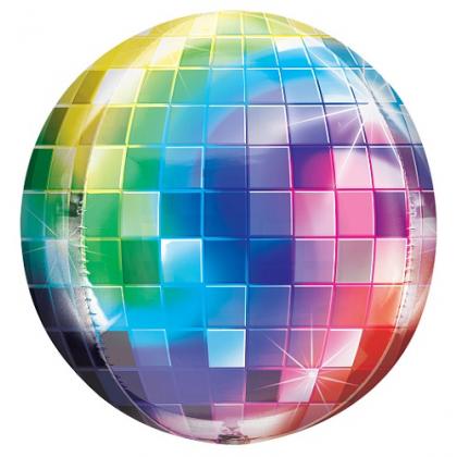 Balón Disco guľa farebná