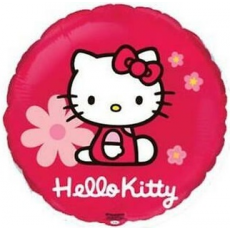 Balón Hello Kitty kruh č
