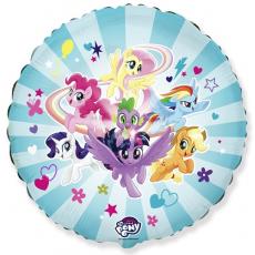 Balón My Little Pony tím