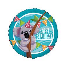 Balón Koala Happy Birthday