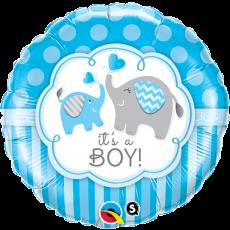 Balón Je to chlapec - Sloník Q