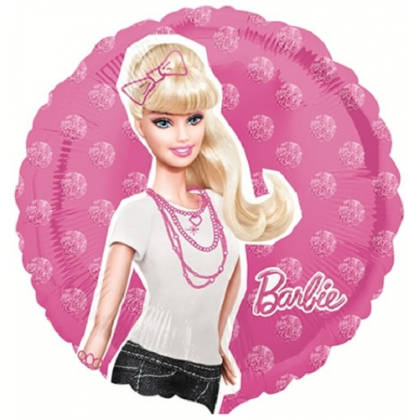 Balón Barbie postava US