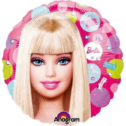 Balón Barbie Guličky US