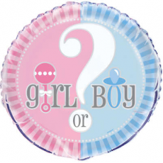 Balón dievča alebo chlapec