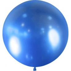 Balón modrý Brilliant - veľký 60cm - 2FT