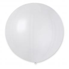 Balón veľký Gigant biely 100 cm