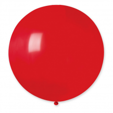 Balón veľký Gigant Červený 100 cm