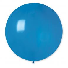 Balón veľký tmavo Modrý 80 cm