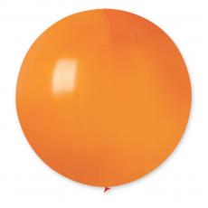 Balón veľký oranžový 80 cm