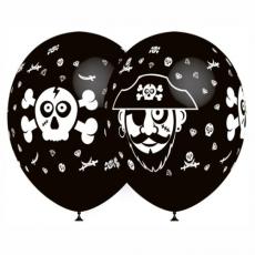 Balón Pirát čierny