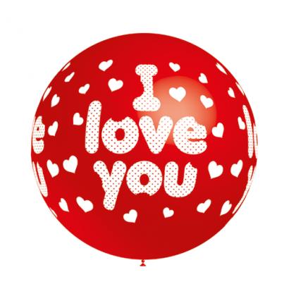 Balón I Love You 60 cm