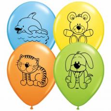 Balóny Zvieratká Q 11´´ RND
