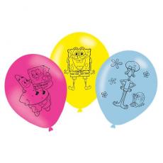 Balóny Spongebob 6 ks