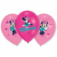 Balóny Minnie Mouse /6ks/