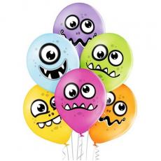 Balóny Monster 6 ks