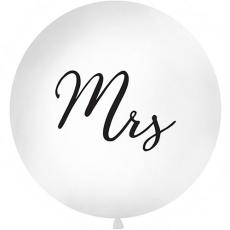 Balón na svadbu Mrs