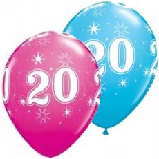 Balón narodeninový číslo 20 11´´