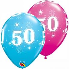 Balón narodeninový číslo 50 11´´