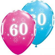 Balón narodeninový číslo 60 11´´