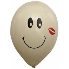 Balón s potlačou Smajlík 3