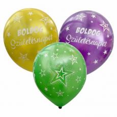Balóny metalické Boldog Születésnapot