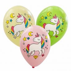 Balóny Jednorožec mix 5ks