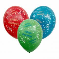 Balóny Všetko najlepšie