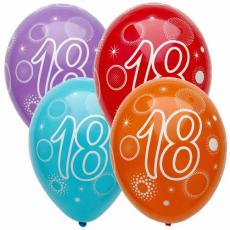 Narozeninový balónek číslo 20 5ks