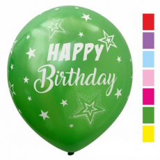 Balóny Metalické Happy Birthday