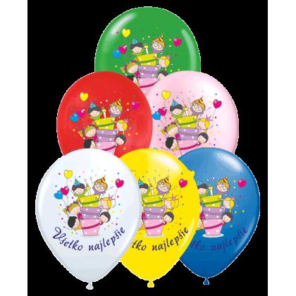 Set balónov Všetko najlepšie