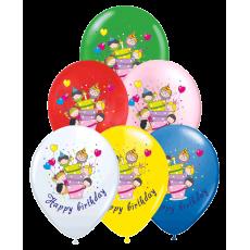 Set balónov Happy Birthday