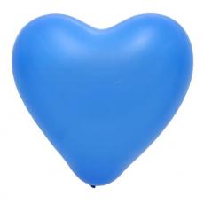 Balón srdce Modré 117 12´´-31cm