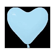 Balón srdce Modrá 140