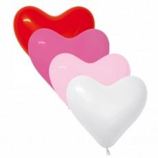 Balón srdce Červené 015