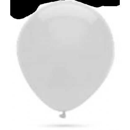 Balón metalický biela perla s303 32cm