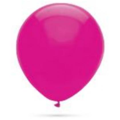 Balón Tmavo ružový s109 35cm