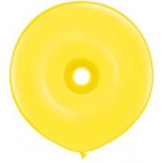 Balón žltý donutka DNT Yellow 40cm