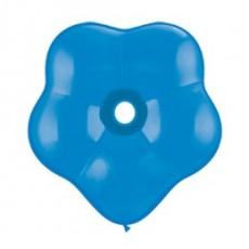 Balón modrý kvetinka BSM Dark Blue 40cm