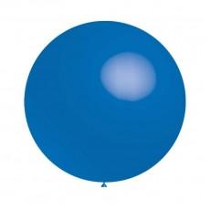 Balón modrý 034 - veľký 60cm - 2FT