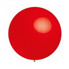 Balón Červený 025 - veľký 60cm - 2FT