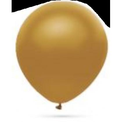 Balón metalický Zlatý s301 32cm