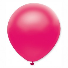 Balón metalický tmavo ružový s310 32 cm