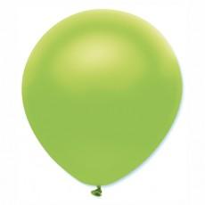 Balón metalický zelená limetka s312 32 cm