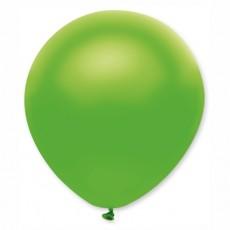 Balón metalický zelený s313 32 cm
