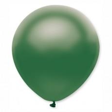Balón metalický tmavo zelený s314 32 cm