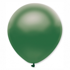 Balón metalický tmavo zelený 32 cm