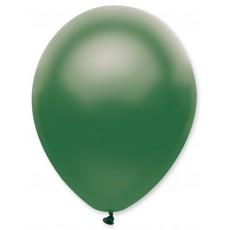 Balón 12´´ met. Zelená tm. s314