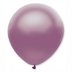 Balón metalický bledo fialový s317 32 cm