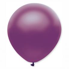 Balón metalický fialový s318 32 cm